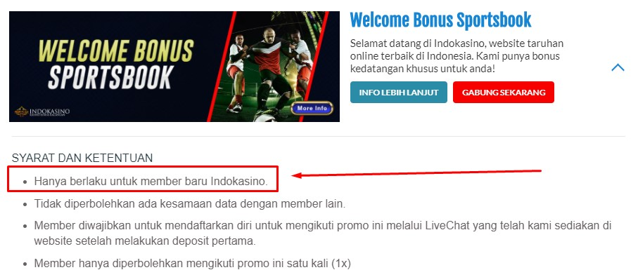 Welcome Bonus Bola