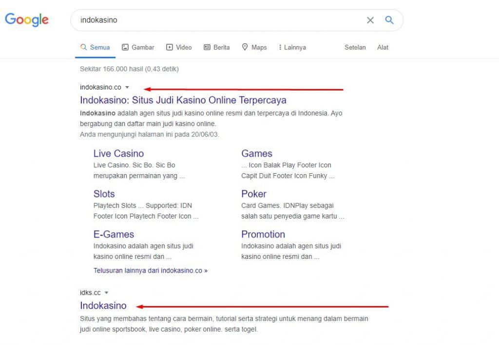 Google indokasino